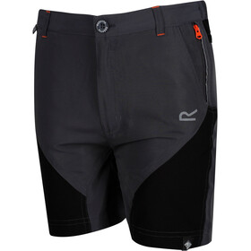 Regatta Sorcer Mountain Shorts Kids Seal Grey/Black